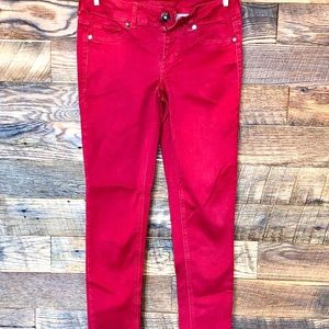 Maurice's Red Jeggings
